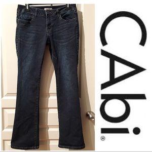 CAbi Dark Wash Jeans size 8